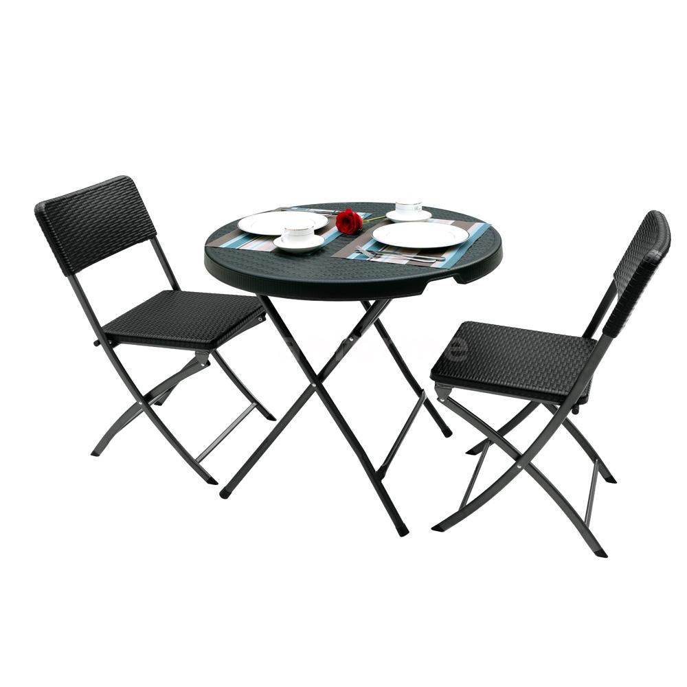 Portable 80cm Folding Table Outdoor Picnic Party Dining
