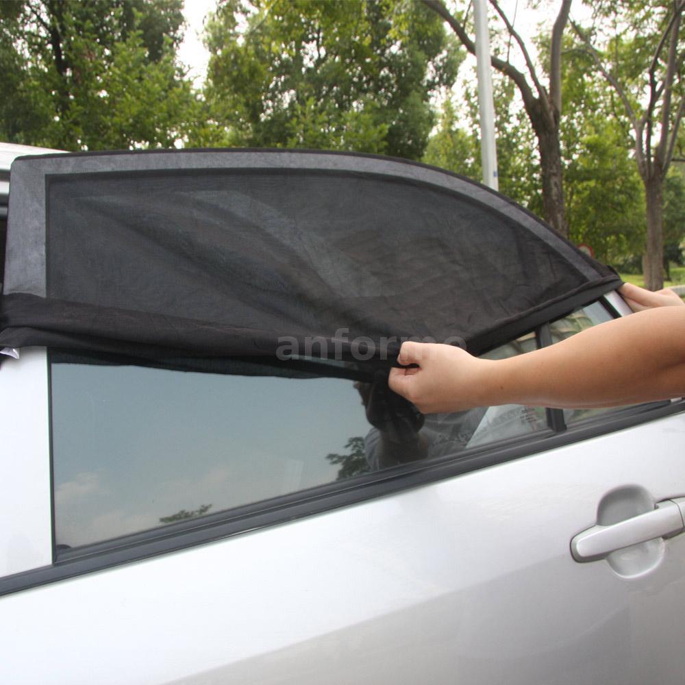 tirol pare soleil pour fen tre de voiture r glable uv protection maille ebay. Black Bedroom Furniture Sets. Home Design Ideas