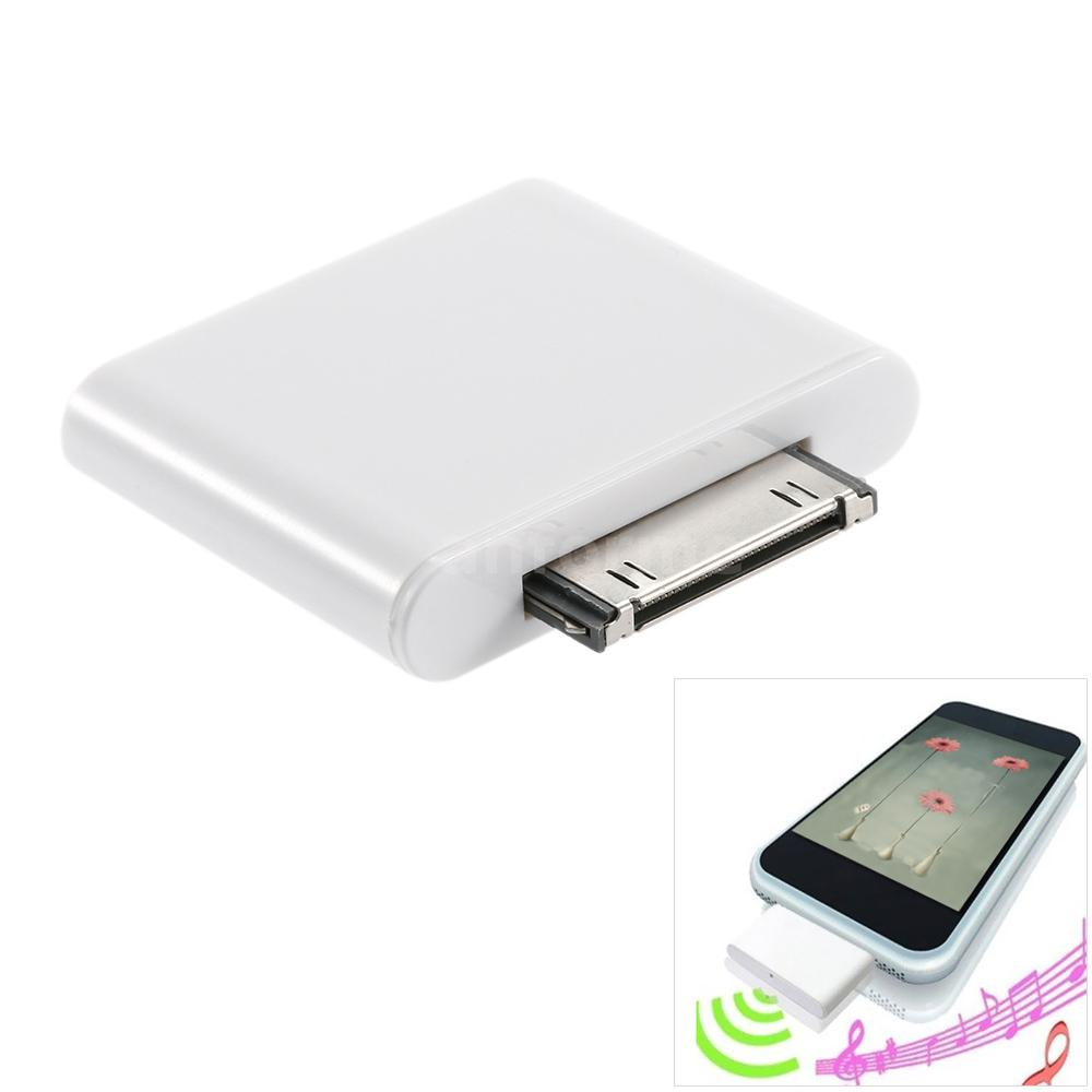 bluetooth adapter dongle transmitter 30 pin a2dp for ipod